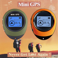 Wholesale HOT Discount inch Mini Handheld GPS Navigation For Outdoor Sport Travel KB