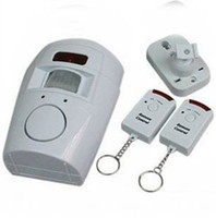 Wholesale Home System Remote Control Wireless IR Infrared Motion Sensor Alarm Security Detector