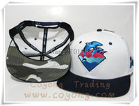 Wholesale 1PCS Pink Dolphin Waves Snapback Hats snapback caps pink dolphin hat hats Adjustable Caps Snapback Hats