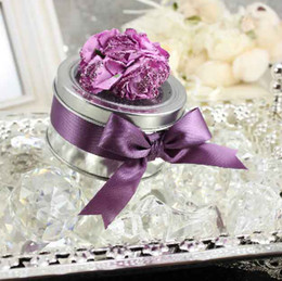 Wholesale 50Pcs Brimming With Happiness Series Wedding Holders Favors Candy Boxes Instock