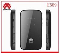 Wholesale Original Unlocked HUAWEI E589 Mbps G G LTE FDD Pocket WiFi Wireless Router MiFi hotspot