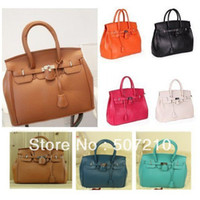 Unisex Plain PU Free shipping Hot Celebrity Girl Faux Leather Handbag Tote Shoulder Bags fashion designer shoulder bag W1252