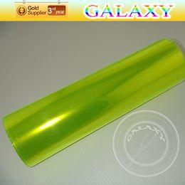 Wholesale Car Headlight Film Tint Stickers Green Yellow Auto 30x1000cm Auto Exterior And Interior lamp Film