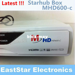 Wholesale Newest Digital Cable Receiver White FYHD C E Update to MHD C For Singapore StarHub Fox With EPG Function And Fox Sports