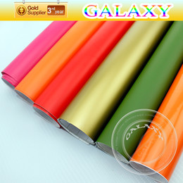Matt Skin Changing Color Film Car Sticker With Air Free Bubbles Matt Vinly Film Car Stickers Size:152cmx5m 10m 15m 20m 30m Sell By Fedex
