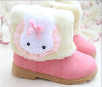 Winter Snow Boots Ankle free shipping new arrival cheap price kid boot girl snow boot children shoes