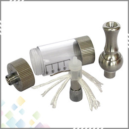 Wholesale Iclear 30 Dual Coil Clearomizer Ecig Iclear 30 Atomizer with Rotatable Drip Tip and Replaceable Coil Head