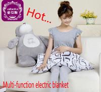 electric blanket - Multi functional air conditioning knee blanket electric blanket xiaomao electric warming blanket electric blanket high grade flannel