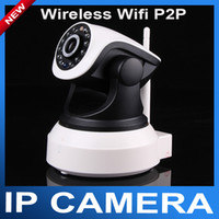 Wholesale P2P Plug and Play Wireless wifi IP Camera With TF Micro SD Memory Card Slot Free Iphone Android App Software