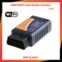 WiFi ELM 327 ELM327 OBD 2 II Car Diagnostic Interface Scanne...