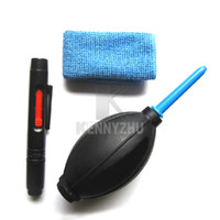 Wholesale 10set In Camera Lens Cleaning Suit Set Tool Kit Air Blower Lens Pen Lens Cloth