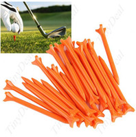 Wholesale High Performance Prong Friction Golf Tees Club Equipments Assorted Color color