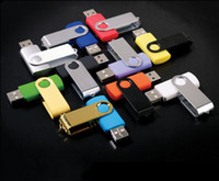 Wholesale GB gb Promotion pendrive GB popular USB Flash Drive rotational style memory stick