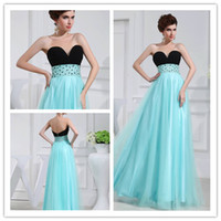 A-Line Sexy Ruffle 2013 Beautiful Cheap A-line Sweetheart Floor Length Aqua Blue Satin With Tulle Beads Sequins Prom Evening party Dresses