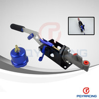 Wholesale HYDRAULIC HAND BRAKE PUMP SX STI EVO RX7 HORIZONTAL VERTICAL OIL TANK BLUE