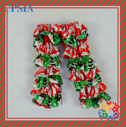 Wholesale Christmas Satin ruffled lace amp satin baby cotton lining infant pairs