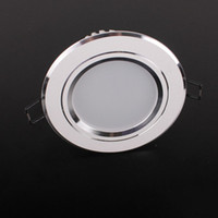 220V Yes Round LED DownLights 7W Ceiling Lamp Round Panel Light TH1115