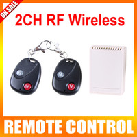 Wholesale 2CH RF Wireless Garage Gate Door Receiver Remote Control