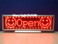 Wholesale LED Mini Display usb rechargeable led sign board x pixel