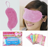 Wholesale Popular Cotton Goggles Sleep Mask Shading Moisture Remove Dark Circles high quality eye goggles improve sleep quality Moist your eyes
