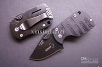 Venta al por mayor - el engranaje al aire libre Boker Plus de bolsillo plegable de camping EDC excursión el cuchillo de los mini cuchillos herramientas interesantes (Negro) regalo de Navidad liberan el envío