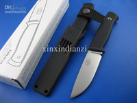 Wholesale Made in China Fallkniven F1 F1z Pilot Survival Knife VG10 blade HRC Fixed blade fighting camping knife knives Christmas gift