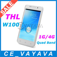 THL 4.5 Android 4.2 THL W100S MTK6582 Quad Core 4.5 Inch IPS QHD Capacitive Screen 3G GPS Quad Band 1GB RAM 4GB ROM Android 4.2 12.6MP Camera Unlocked
