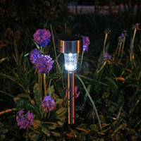 Wholesale New LED Plastic Solar Lamp LED Solar Light Outdoor Garden Lawn Landscape Decoration Lamp