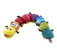 Wholesale Multi fuction Lamaze Sounding Plush Toys Cute Caterpillar Baby Toys WIth BB Device Christmas Gifts Education Toys KY282