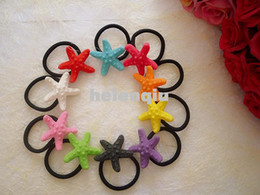 Korean fashion factory outlets Harajuku natural starfish eyeball side clip hair ring hair jewelry wholesale hair jewelry
