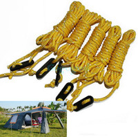 Wholesale Yellow Guyline Tent Rope Runners Guy Line Camping Cord Paracord