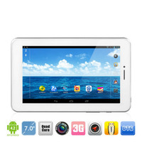 Wholesale New Android Android MTK8389 Quad Core Build in G GPS Bluetooth dual camera dual sims Ainol NOVO AX1 Tablet PC