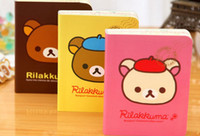 Wholesale NEW cute rilakkuma designs Notebook Notepad Memo Diary Gift