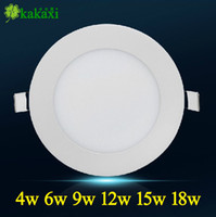 No 85-265V 2835 High quality SMD 2835 3w 4w 6w 9w 12w 15w 18w 20w LED round led panel lighting led screen Ceiling light indoor lighting Fedex Free shipping