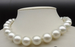 Wholesale Best Buy Pearl Jewelry genuine Very Large mm inches AAA Akoya Natural White Pearls Necklace k