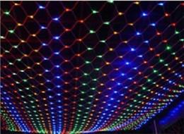 Hot Sale Fairy Lights Luzes De Natal Large Size Fairy Christmas Meshwork Chandeliers Led for Lamps Net Lights 10m X 6m 1920led