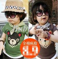 Boy Summer V-Neck 2013 Children High Quality Boys T Shirt Kids Tops Summer Wear Short Sleeve Clothing d989918