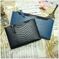 Mayoreo - envio Gratis, CUERO(CUERO) Cartera para las mujeres de 2013, el Nuevo modelo Ladie de la moda del bolso, leis