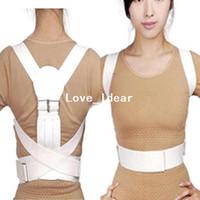 Back   Free shipping Back Posture Shoulder Support Band Belt Brace Corrector 000166