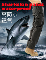 Wholesale 2015 new TAD outdoor Shark skin soft shell pants Climbing waterproof breathable trousers