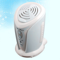 Electrical battery ozone air purifier - Factory supply Portable Ions Air Purifier Cleaner Ionizer Fan with Aroma Diffuser usb or battery powered Mini Air Ozone Ionic Purifier