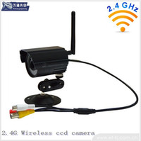 Wholesale high quality Ghz Color CCD Wireless Camera ghz outdoor night vision ccd wireless camera