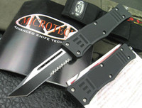 Wholesale OTF knife action Microtech serrated blade HRC microtech knives survival knives best christmas gift