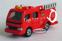 5-7 Years Car Metal Free shipping--TOMY MORITA fire truck alloy model car puzzle toy Christmas gift