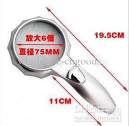 Wholesale sell times the magnifying glass of high fashion with LED light reading magnifier Figure