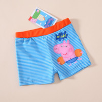 1-8T Swim Trunks Boy Free shipping George Pig peppa pig boy boys kids swimwear swimmer swim shorts trunks swimming bathers Design BS55