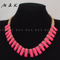 Cheap punk hollow thick chain collar necklace;Fashion choker bib jewelry for women dress,girl's fashion clothing accessories