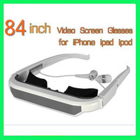 Wholesale Mobile Theatre Video Glasses Inch Virtual Video Screen Glasses for iPad iPhone iPod