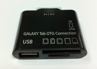 Wholesale 5 in USB Camera OTG Connection Kit for SAMSUNG GALAXY Tab P5100 P3100 P5200 P3200 T310 Card Reader Adapter