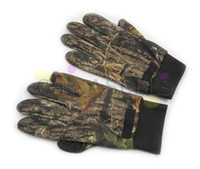 Wholesale mossy oak photography outdoor sports fishing hunting camouflage gloves army bionic leaves camouflage non slip gloves